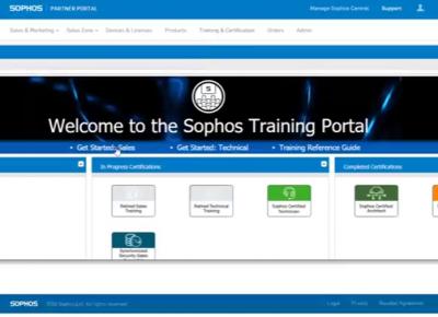 Đăng ký tham dự SOPHOS Training