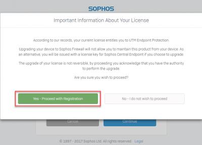 Cấu hình Tường lửa Sophos: Chuyển đổi OS Sophos SG UTM qua OS Sophos