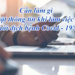 Những điều cần biết về bảo mật khi làm việc tại nhà thời dịch bệnh covid-19
